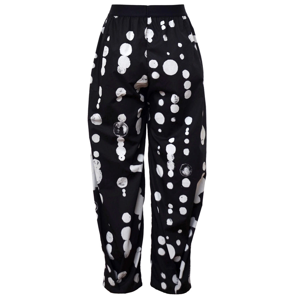 Tiffany Treloar Cotton Pant Black Oddkadot Back