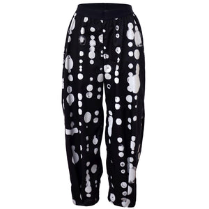 Tiffany Treloar Cotton Pant Black Oddkadot Front