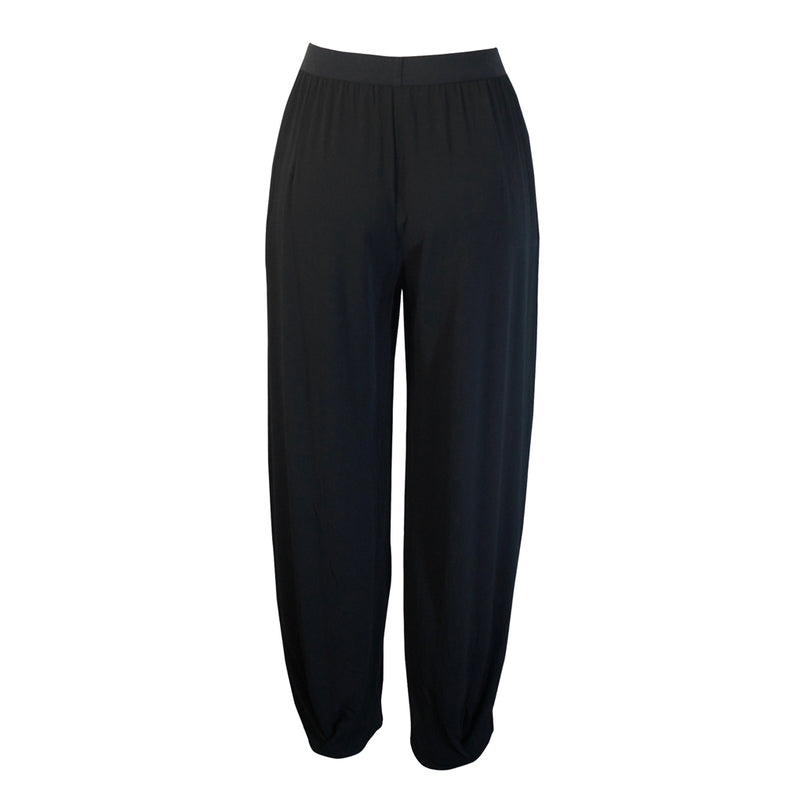Tiffany Treloar Paris Crepe Viscose Pant Black Back