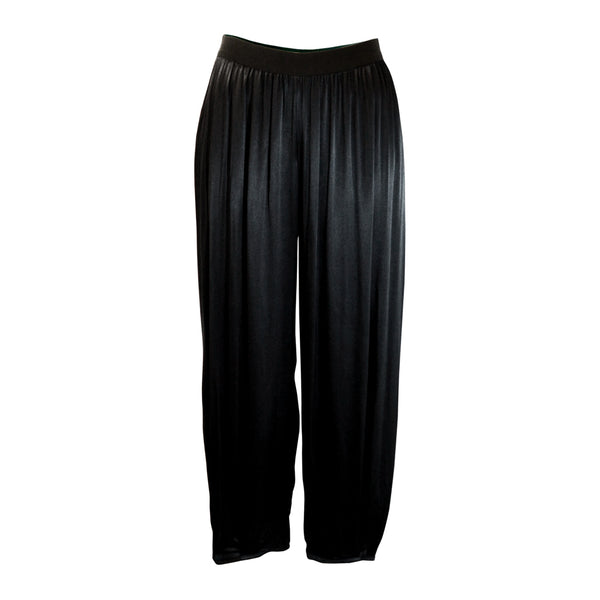Tiffany Treloar Viscose Paris Pant Black Front