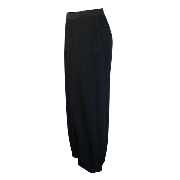 Tiffany Treloar Paris Crepe Viscose Pant Black Side