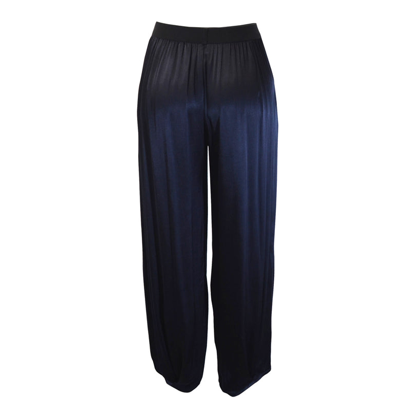 Tiffany Treloar Paris Viscose Pant Navy Back