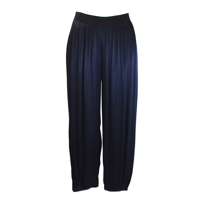Tiffany Treloar Paris Viscose Pant Navy Front