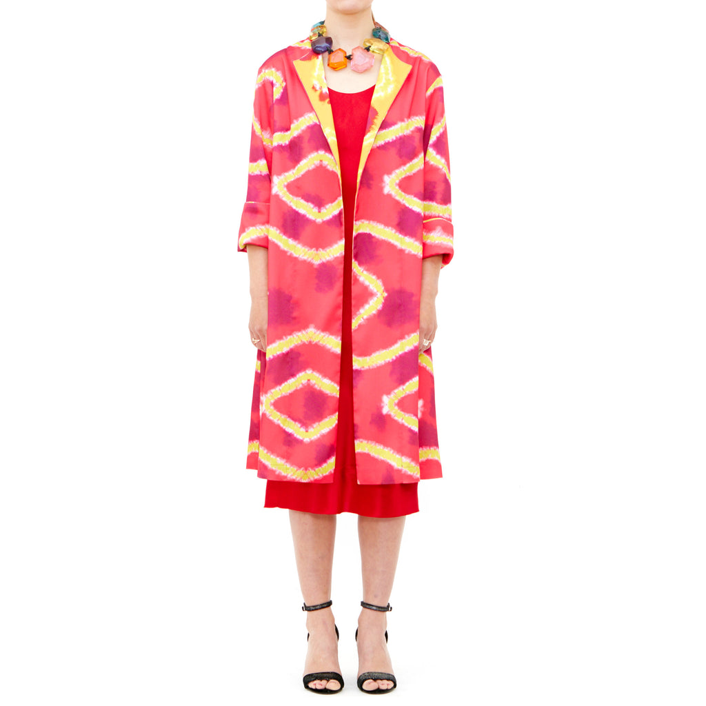 Tiffany Treloar, Pomegranate Coat - Tiffany Treloar