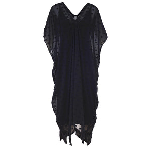 Tiffany Treloar New Butterfly Dress Black Front