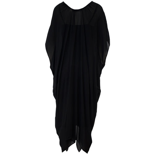 Tiffany Treloar, Viscose New Butterfly Dress Black - Tiffany Treloar
