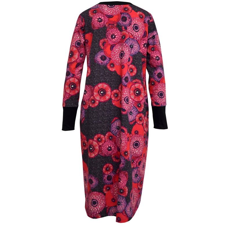 Tiffany Treloar Billie print sweater dress back