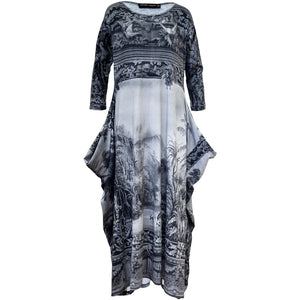 Tiffany Treloar Print Cotton Zero Dress Amazonica Front