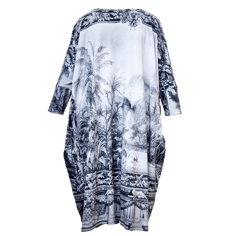 Tiffany Treloar Print Box T Dress Amazonica Back