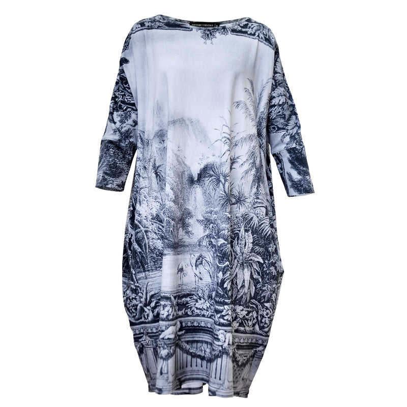 Tiffany Treloar Print Box T Dress Amazonica Front