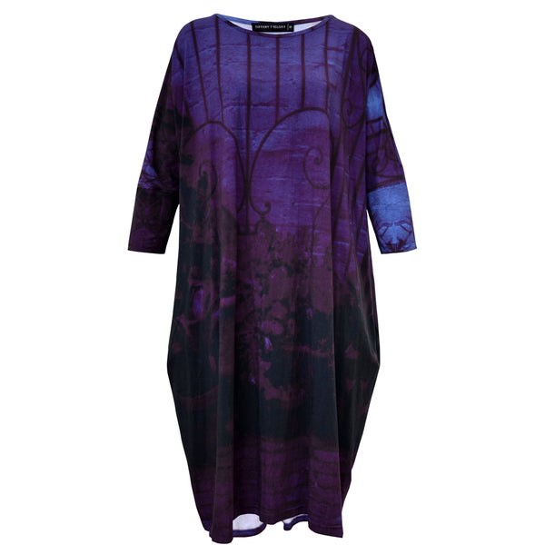 Tiffany Treloar Print Box T Dress Moody Gate Front