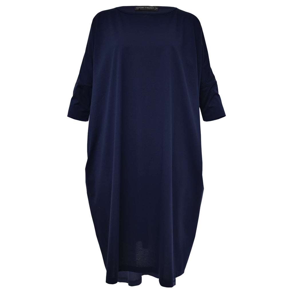 Tiffany Treloar, Cotton Box T Dress Navy - Tiffany Treloar