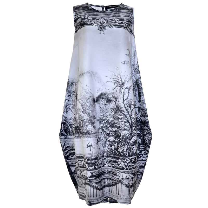 Tiffany Treloar Amazonica Cotton Print Bop Dress Front