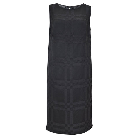 Tiffany Treloar Italian Linen Viscose Dress Black Front