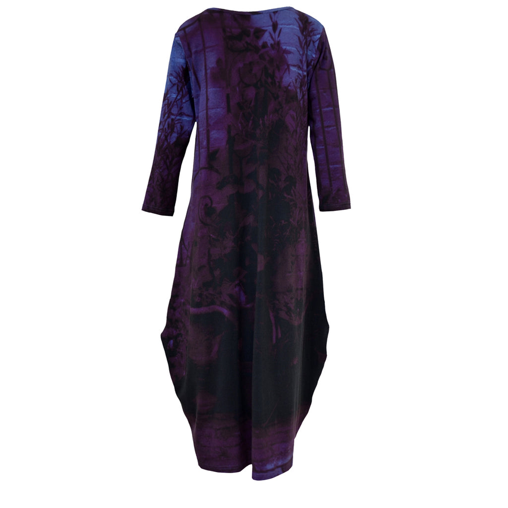 Tiffany Treloar Tayla Cotton Print Dress Moody Gate Back