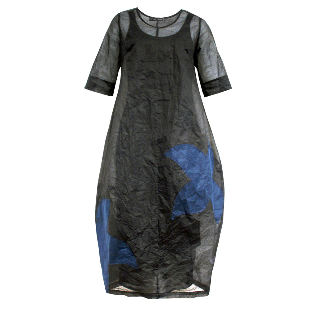 Tiffany Treloar, Vive Black Ink Organdy Dress - Tiffany Treloar