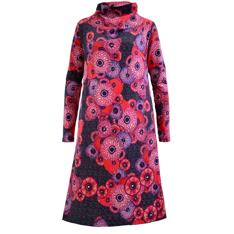 Tallulah Print Cotton Dress Eixample