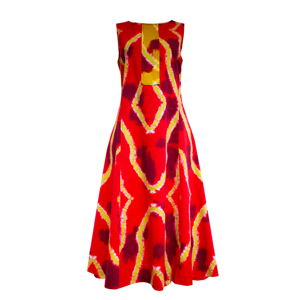 Tiffany Treloar, Ms Mary Pomegranate Dress - Tiffany Treloar