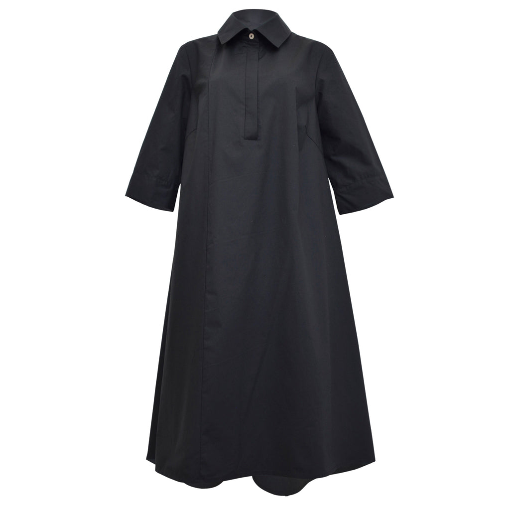 Tiffany Treloar, Summer Black Shirt Dress - Tiffany Treloar