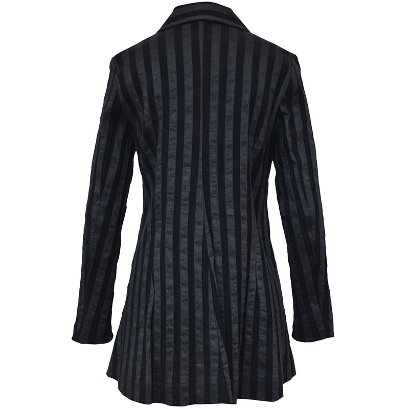 Tiffany Treloar, Italian Linen Viscose Jacket Black - Tiffany Treloar
