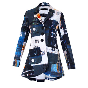 Tiffany Treloar Crossfire Cotton Jacket Front