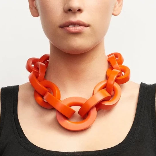 Monies, Katie Necklace Red - Tiffany Treloar