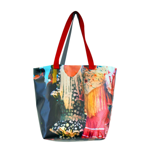 Tiffany Treloar Shopping Tote Flamenco