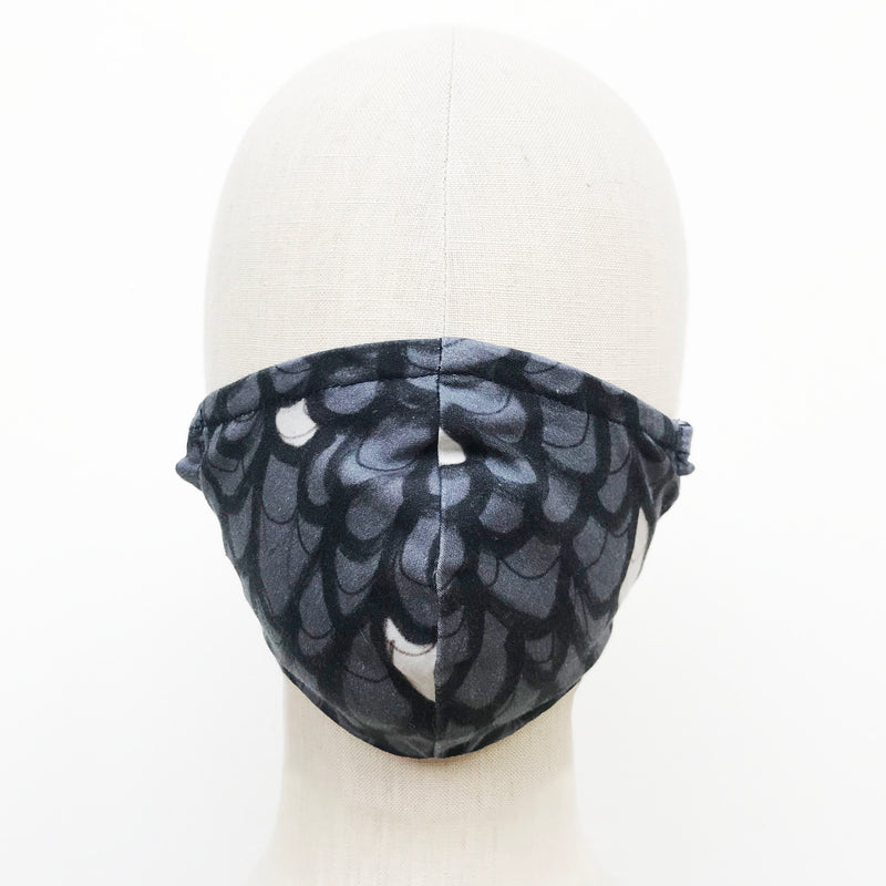 Mask in Feather Print