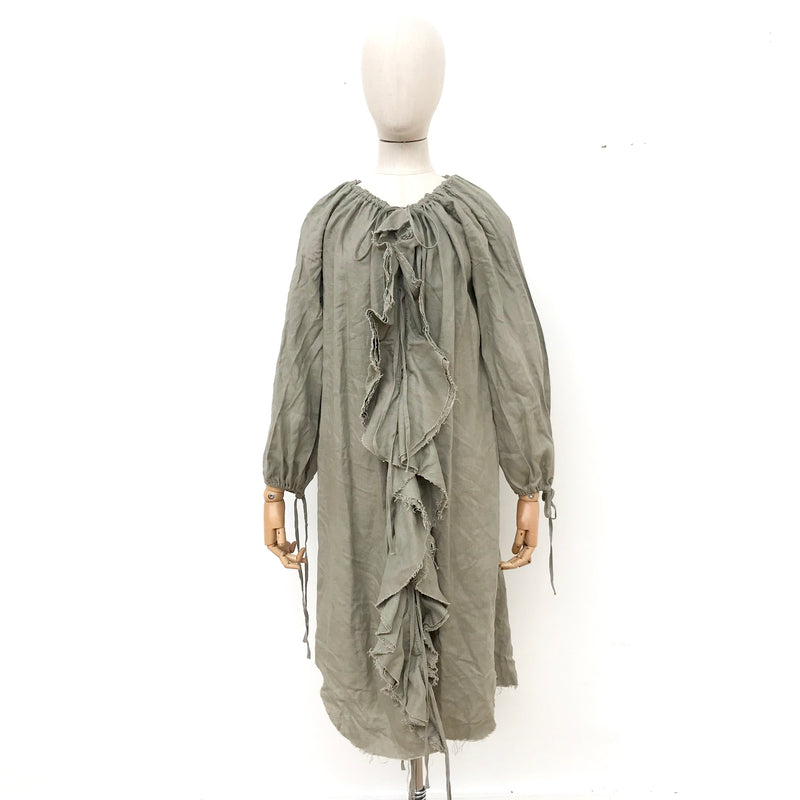 Amano Linen Duster/Dress in Natural