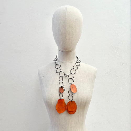 HD13-Oxi-Orange Necklace