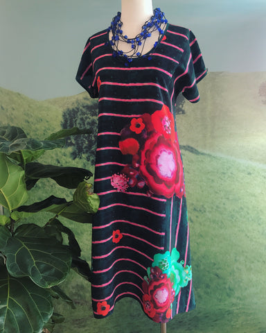 Silk Print Dress Asta