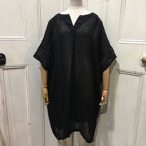 Moyuru Black Shift Dress Art Number 181746