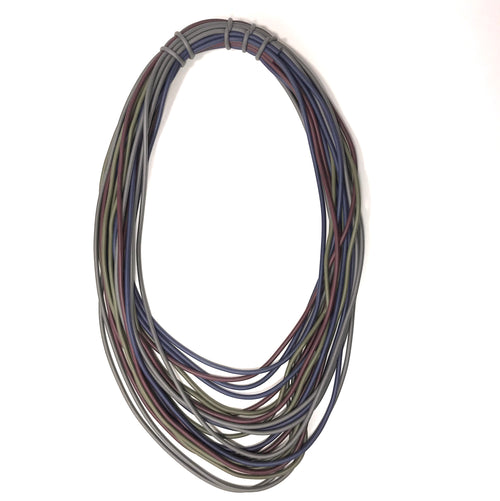 NEO, NEO 298 Double Mix/Dark Long Necklace - Tiffany Treloar