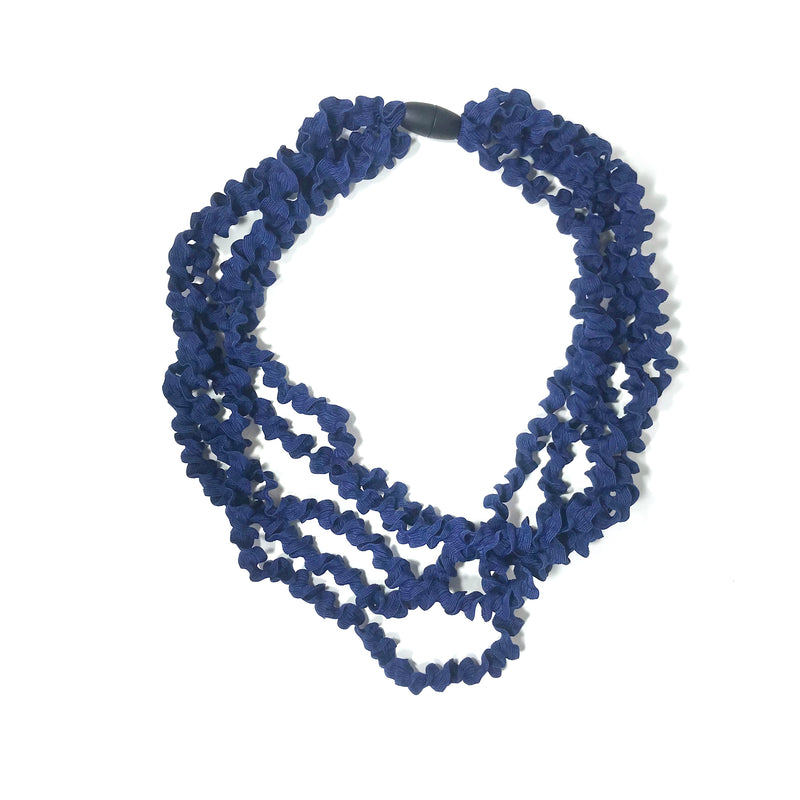 Materia Design, MD-399 Blue Laccio necklace - Tiffany Treloar