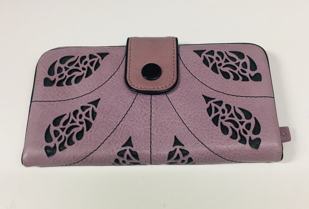 Nouveau Tear Tab Wallet - Iris/Licorice