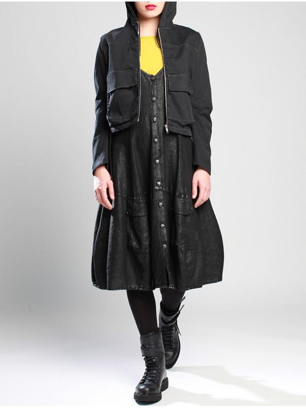 Azure Cotton Overcoat LB M19-122
