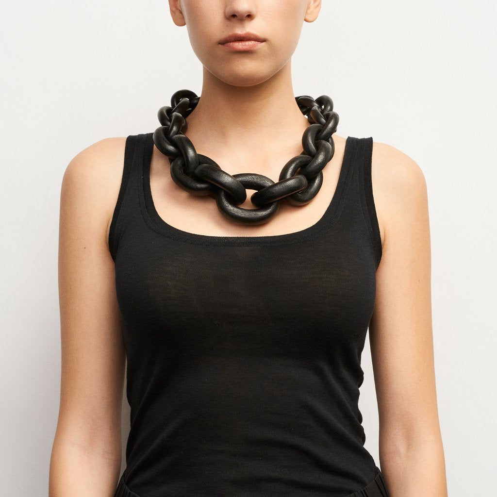 Delhi Necklace Black