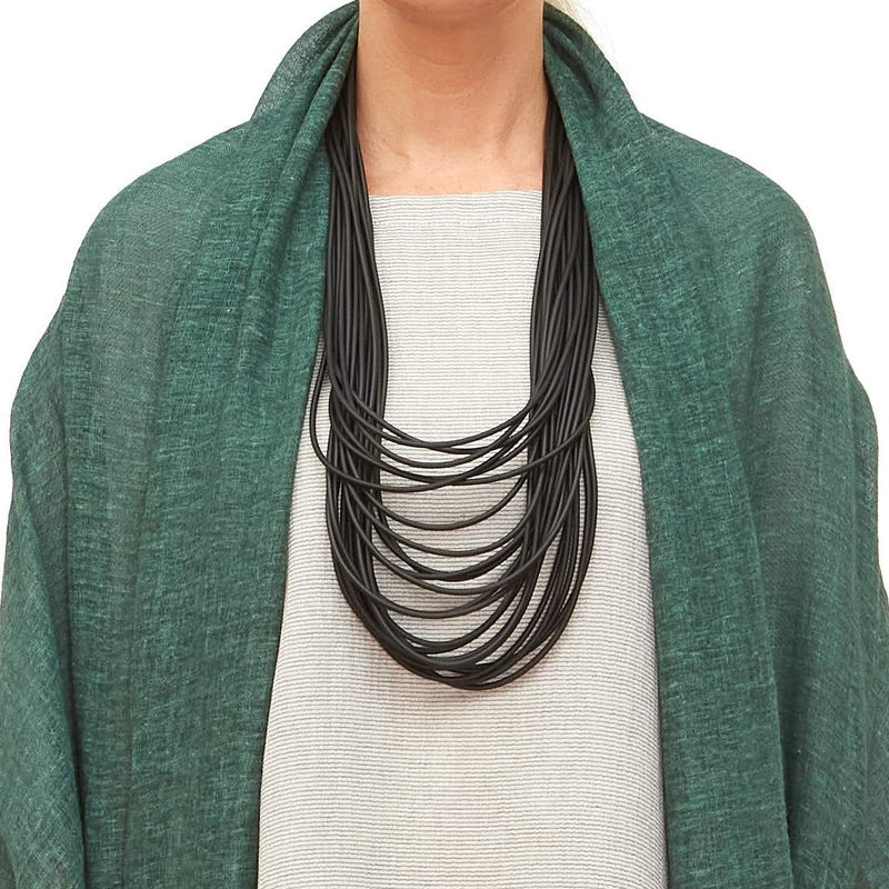 NEO, NEO 298 Black Long Double Necklace - Tiffany Treloar
