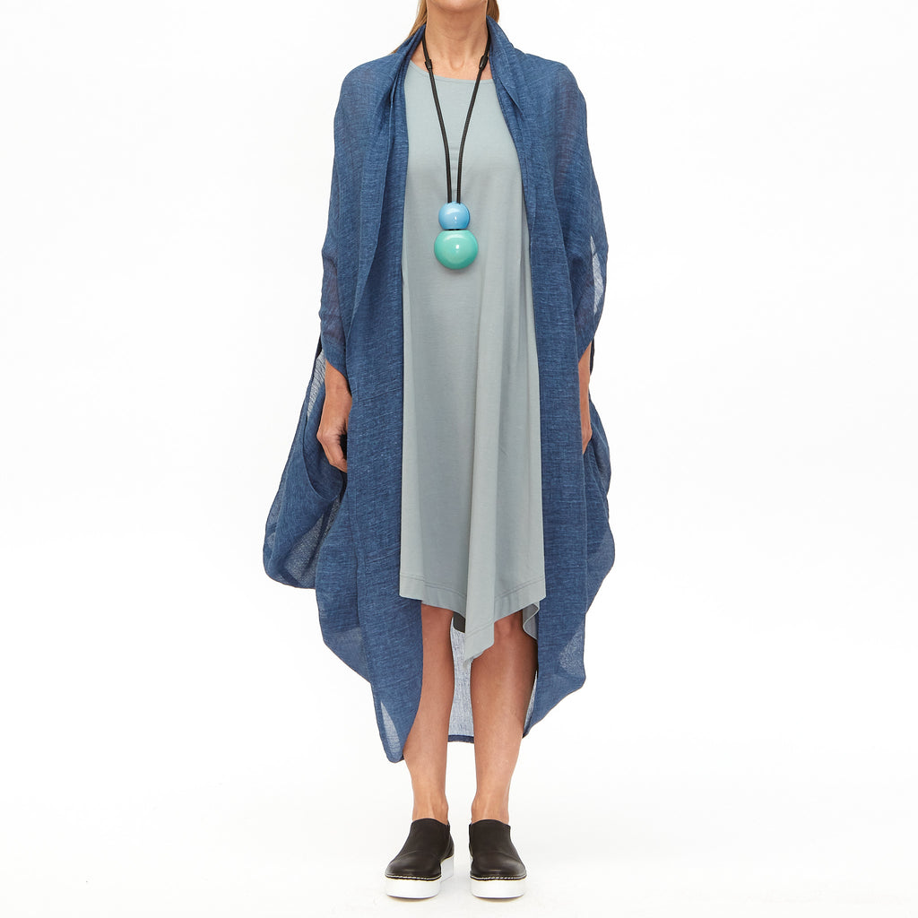 Moyuru, Light Blue Tunic 201019-70 - Tiffany Treloar