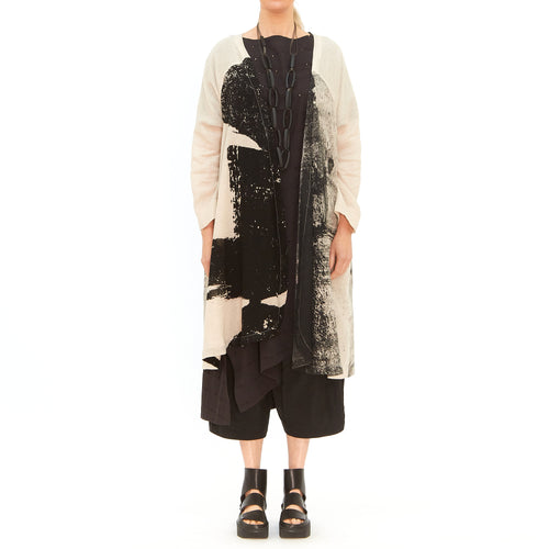 Moyuru, Natural and Black Duster 201445-05 - Tiffany Treloar