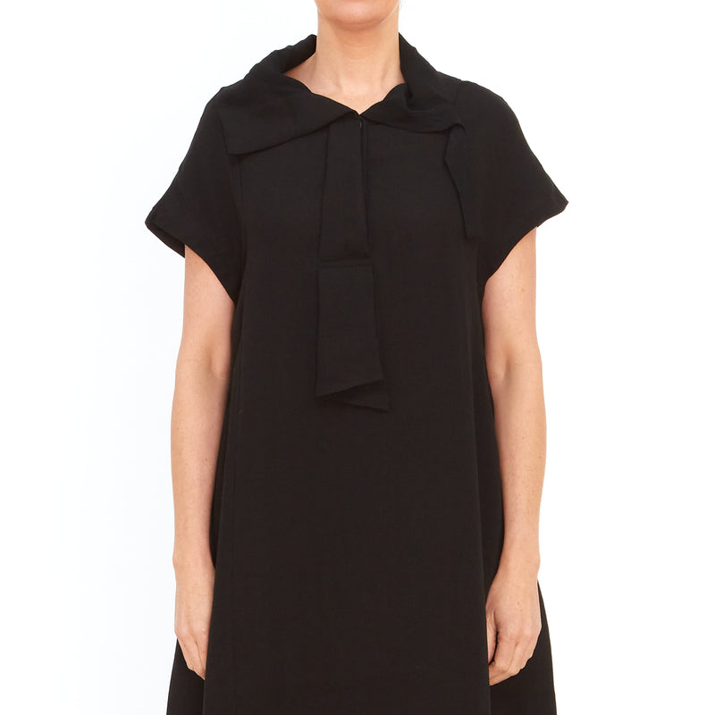 Moyuru, Black Shirt Dress 201672-02 - Tiffany Treloar