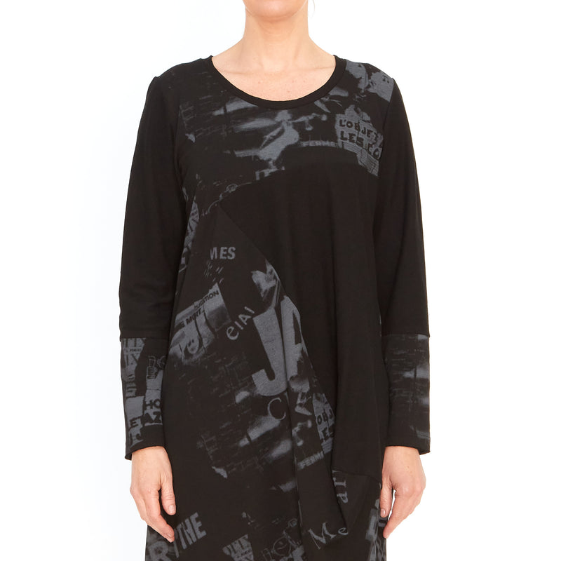 Tiffany Treloar, Carlisle black dress - Tiffany Treloar