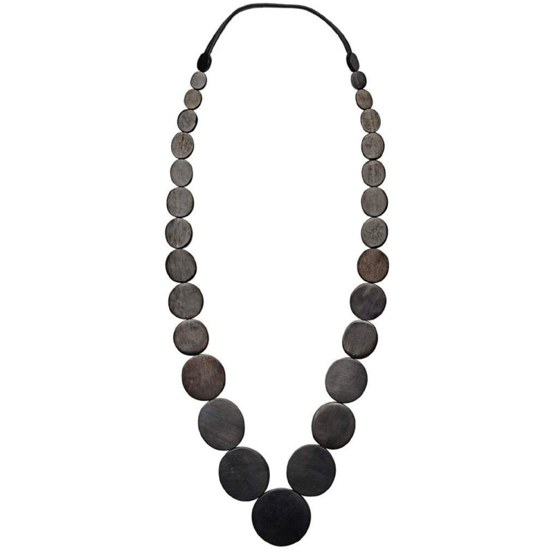 Monies, Melbourne Necklace Black - Tiffany Treloar