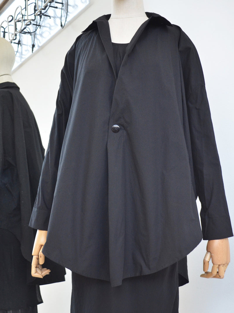 Moyuru Black Cotton Jacket 191460