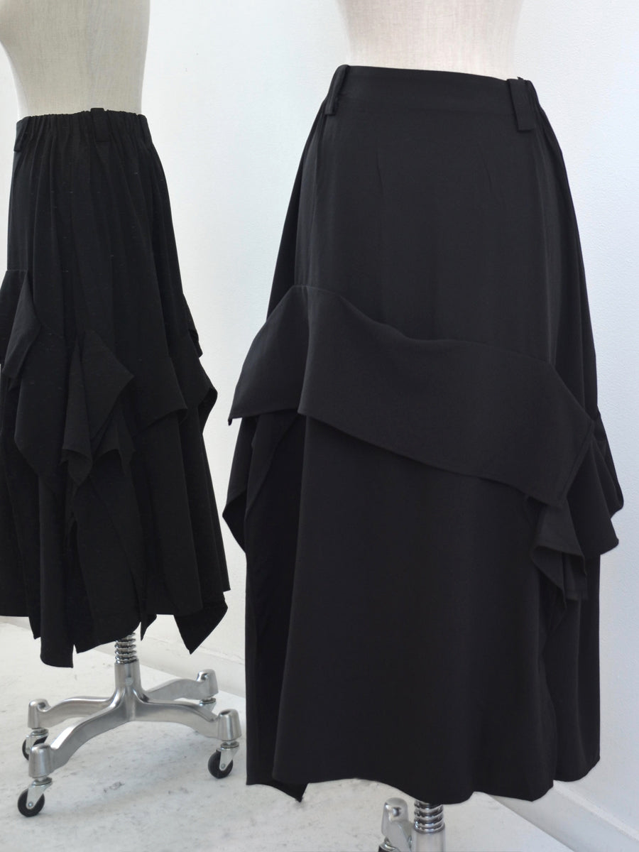 Moyuru Black Skirt 191643