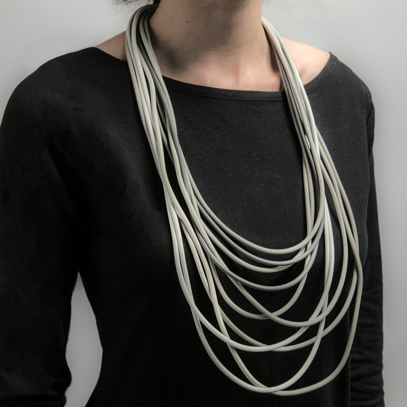 Neo 39 Greymix Long Necklace