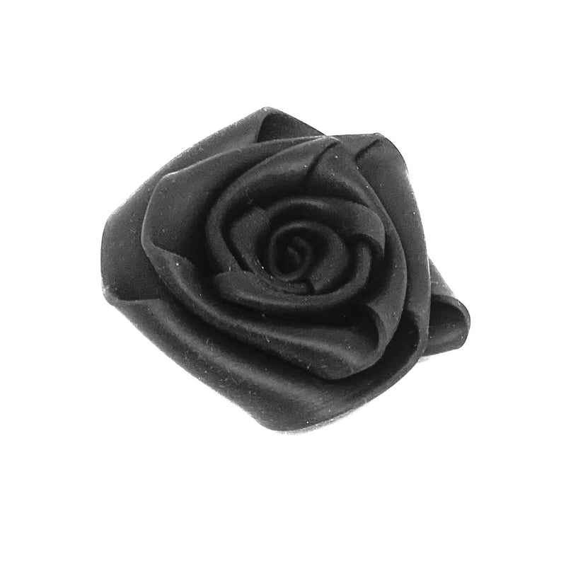 NEO, NEO 130 Rose Brooch Black - Tiffany Treloar