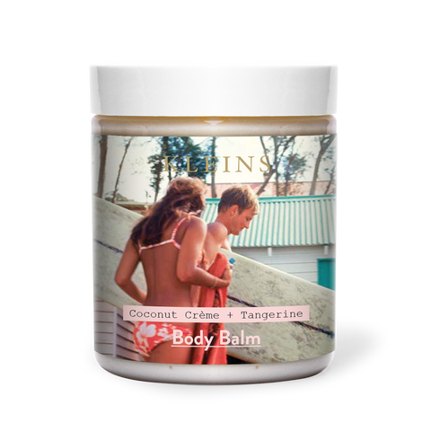 Surfer with Girl Body Balm rennie ellis kleins perfumery tiffany treloar