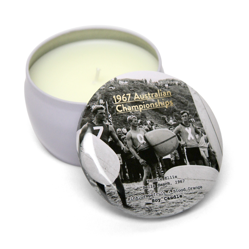 Series: Rennie Ellis 1967 Australian Championships Soy Candle