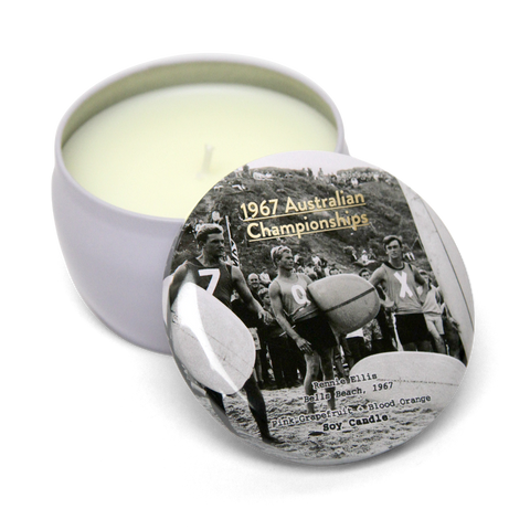 1967 Australian Championships Soy Candle